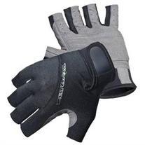 NeoSport 1.5mm Neoprene 3/4 Finger Gloves - XS - Black