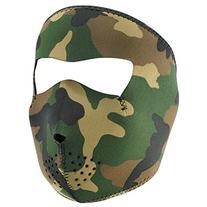 Zanheadgear WNFM118 Neoprene Full Face Mask, Woodland Camo
