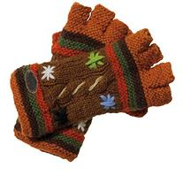 Turtle Fur - Women's Nepal Tara Fingerless Mittens, Hand