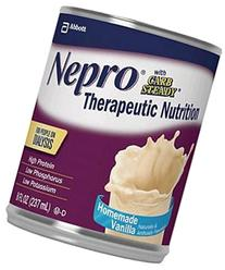 Nepro Liquid Nutrition, Homemade Vanilla, 8-Ounce Case of 24