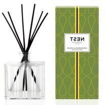 NEST Fragrances Reed Diffuser-Lemongrass & Ginger , 5.9 fl