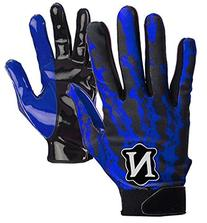 Adams USA Neumann Rage Adult Men's Receiver Gloves, Royal