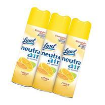 Lysol Neutra Energizing Air Sanitizing Spray, Citrus Zest,
