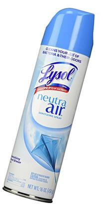 Lysol Neutra Air Sanitizing Spray, Air Freshener,
