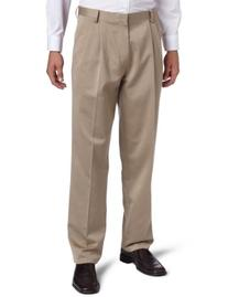Dockers Men's Never-Iron Essential Khaki Classic Pleated