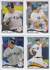 New York Yankees 2014 Topps Baseball Regular Issue Series 1