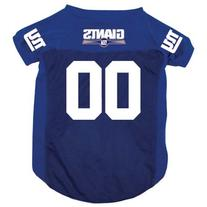 New York Giants Pet Jersey - Dog and Cat Pet Gear