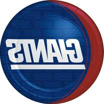 "New York Giants 9"" Plates - 8 Pack"