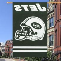 New York Jets NFL Applique Banner Flag