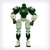 "New York Jets 10"" Team Cleatus FOX Robot NFL Football Action"