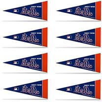 New York NY Mets MLB Mini Pennant Set