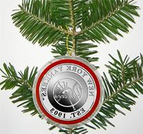 MLB NEW YORK YANKEES SILVER COIN ORNAMENT