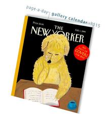The New Yorker 365 Days of Covers 2015 Gallery Calendar