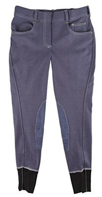 Girl's Newbury Pull-On Breech with Contrast Stitching,