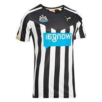 Puma Men's Newcastle Home Replica Shirt, XX-Large, Black-