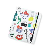 Kate Spade New York Recipe Book, , White