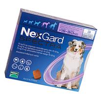 Nexgard Spectra Tab Small Dog 4-16 lbs Yellow 3 PACK