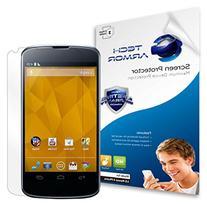 Nexus 4 Screen Protector, Tech Armor High Definition HD-