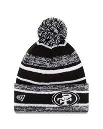 NFL San Francisco 49ers 14 Black/White Sport Knit Hat