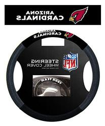 NFL Arizona Cardinals Poly-Suede Steering Wheel Cover