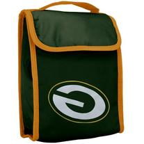 NFL Green Bay Packers Big Logo Velcro Lunch Bag, Green