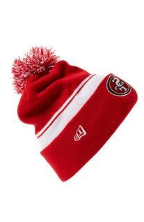 Men's New Era Cap 'NFL - San Francisco 49ers' Pom Knit Cap