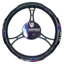 NFL Buffalo Bills Steering Wheel Cover, Black, One Size