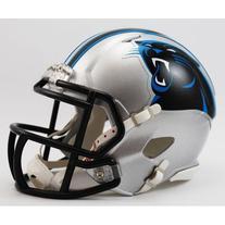 NFL Riddell Carolina Panthers Mini Speed Helmet - Silver