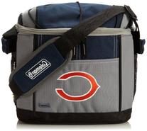 NFL Chicago Bears 24 Can Soft Sided Carry Coleman Cooler