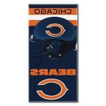 NFL Chicago Bears Banner Beach Towel, 30 x 60-Inch