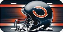 NFL Chicago Bears License Plate, Team Color, One Size
