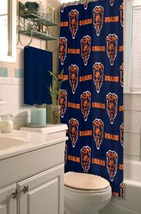 NFL Chicago Bears Shower Curtain