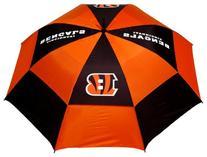 NFL Cincinnati Bengals 62-Inch Double Canopy Umbrella