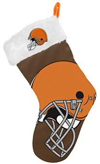 NFL Cleveland Browns Double-Check Logo Stocking - Brown
