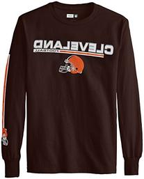 NFL Cleveland Browns Men's UVH Tee, Classic Brown, Large