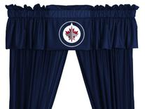 NHL Winnipeg Jets Valance, 88 x 14, Midnight