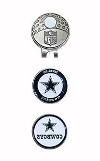 Team Golf NFL Dallas Cowboys Golf Cap Clip with 2 Removable