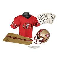 Franklin Sports NFL San Francisco 49ers Deluxe Youth Uniform