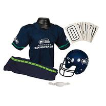 Franklin Sports NFL Seattle Seahawks Deluxe Youth Uniform Set, Medium