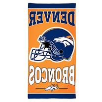 "NFL Denver Broncos Fiber Beach Towel, 30"" x 60"