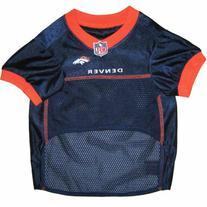Pets First NFL Denver Broncos Jersey, Medium