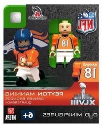NFL Denver Broncos Peyton Manning Toy Figure