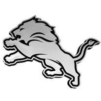 NFL Detroit Lions Chrome Automobile Emblem