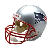 NFL New England Patriots Deluxe Replica Football Helmet