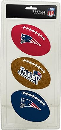 NFL New England Patriots Kids Softee Football , Small, Blue