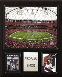 NFL Georgia Dome Stadium Plaque