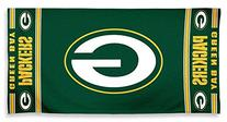 The Northwest Company NFL Green Bay Packers Diagonal Beach