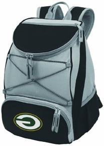 NFL Green Bay Packers PTX Insulated Backpack Cooler, Black