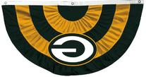 NFL Green Bay Packers Team Logo Bunting 58 inch W by 44 inch