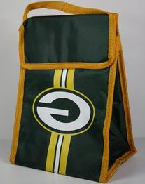 NFL Green Bay Packers Velcro Lunch Bag